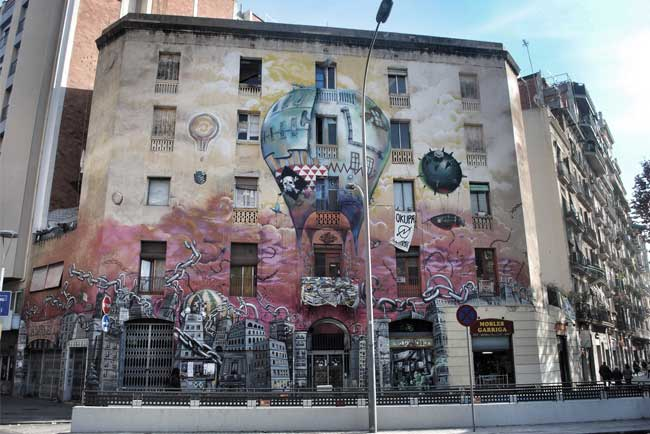 Murales nel Barrio di Sant Antoni