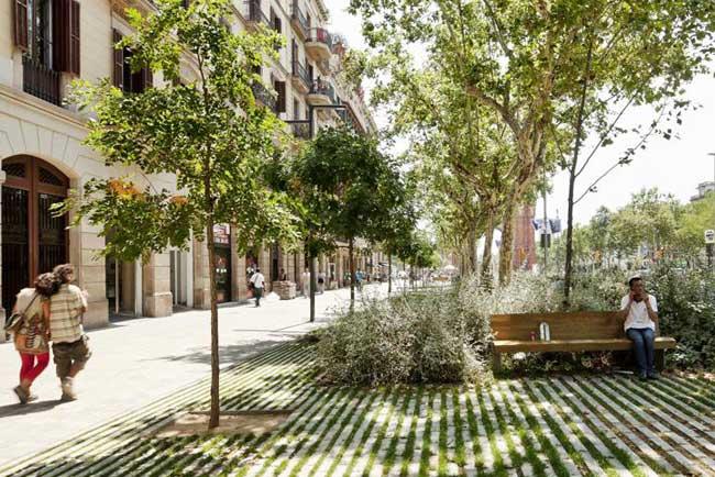 Passeig de Sant Joan a Barcellona