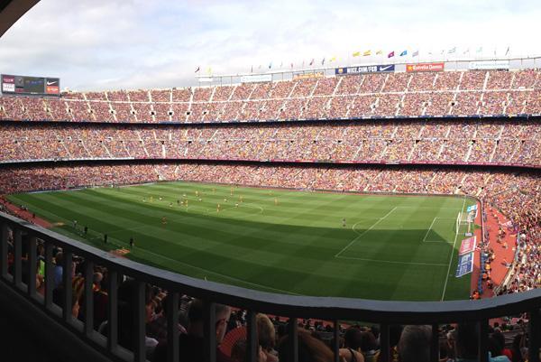 entire stadium