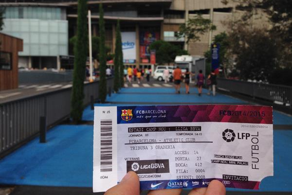 Ticket Camp Nou