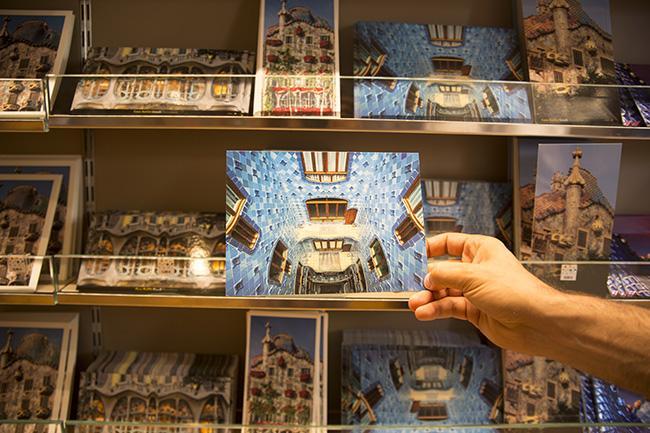 Postcard of Casa Batlló
