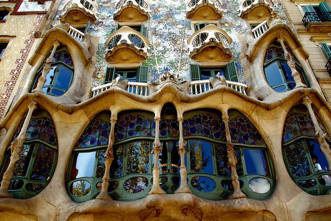 Gaudi's famous Casa Batllo