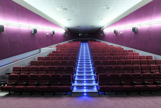 Una sala del cinema Arena