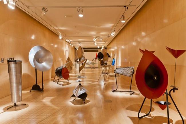 Sala espositiva Museo della Musica