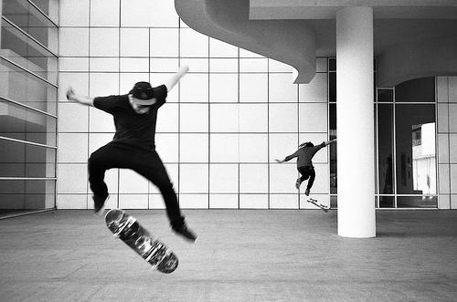 skaters al MACBA