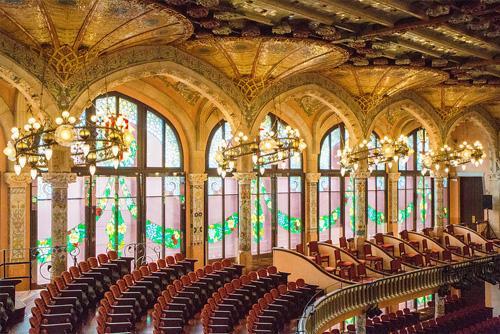 Palau de la Musica interno sala