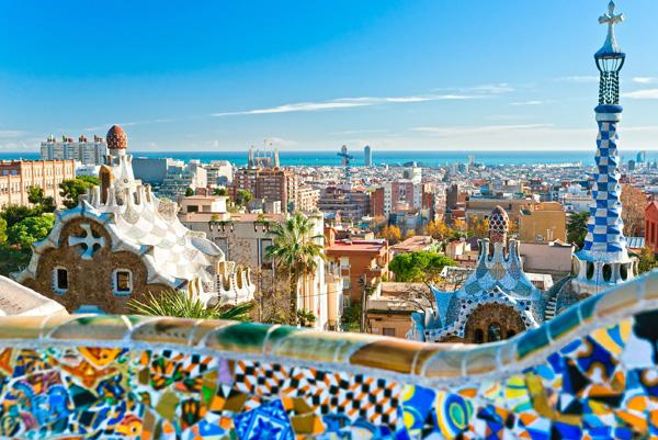 A View of Park Guell