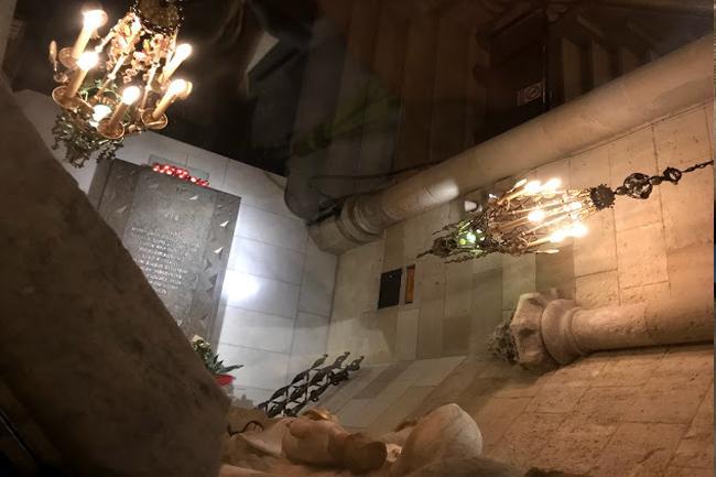 La cripta della Sagrada Familia