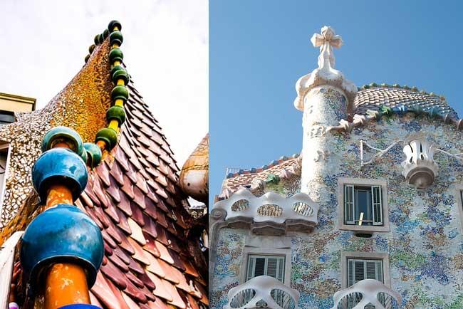 Details of the Casa Batlló