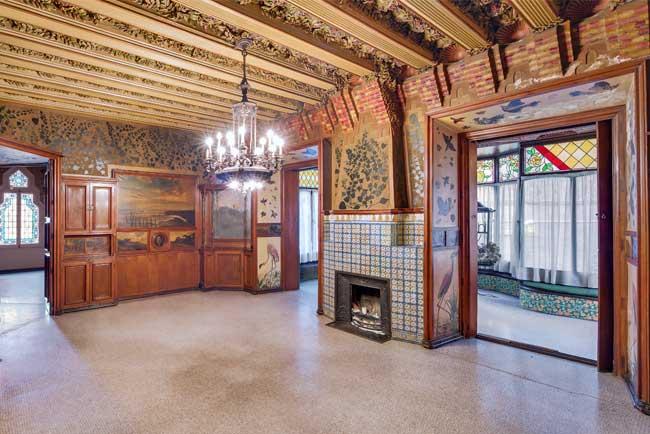 Interior of the Casa Vicens