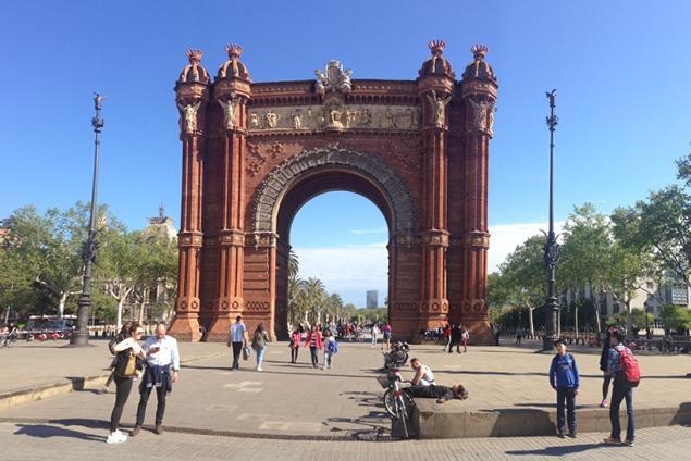 Arco di Trionfo a Barcellona