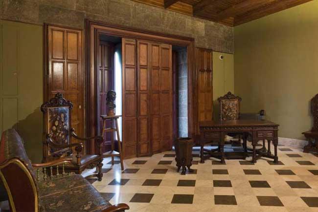 El mobiliario del Palau Guell