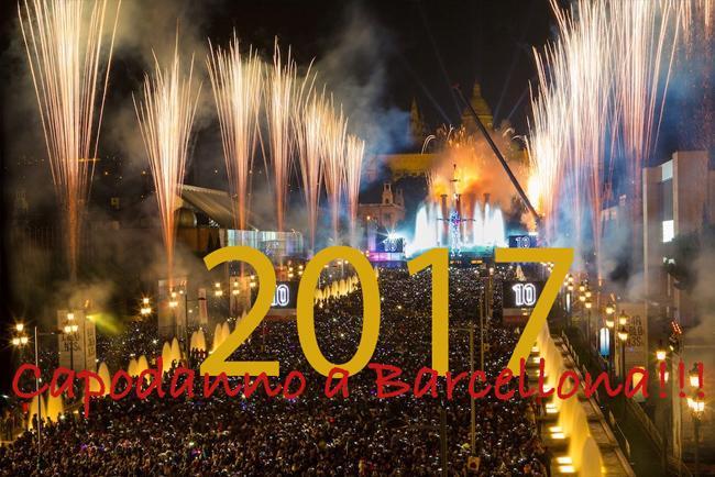 Fin de año en Barcelona