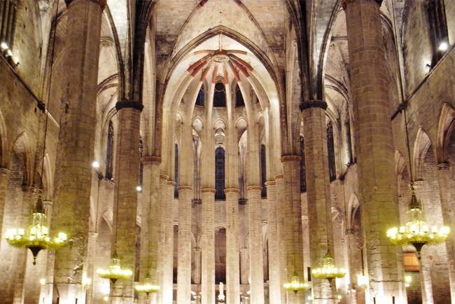 La Basílica de Santa María del Mar