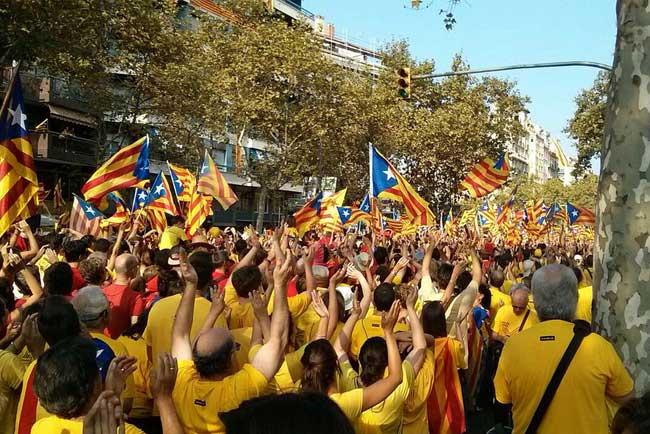 Diada Barcellona
