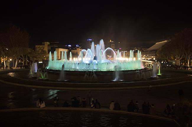 The Magic Fountain at Christmas