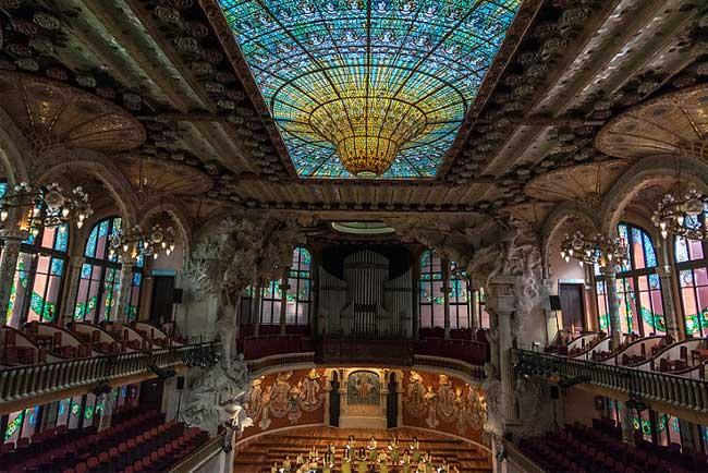 Palau Musica Catalana di Barcellona