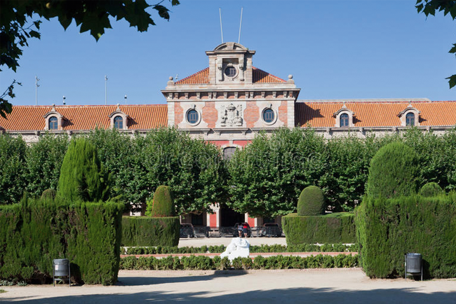Il Palazzo del Parlamento della Catalogna