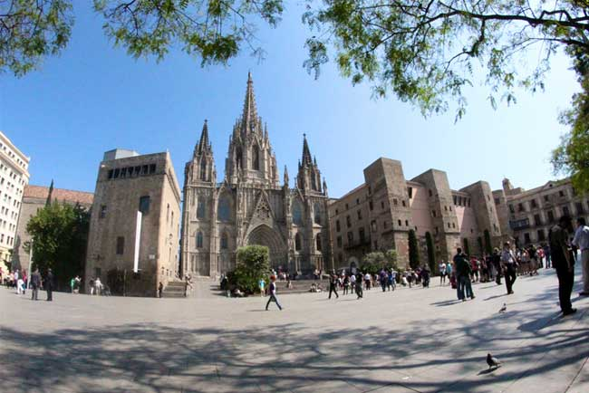 Barcelona Cathedral Square