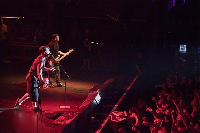 Un concerto al Razzmatazz di Barcellona