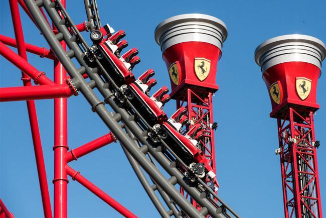Ferrari Land en el PortAventura de Barcelona