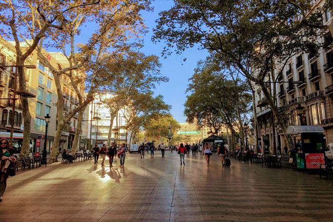 Il viale più famoso di Barcellona: Las Ramblas