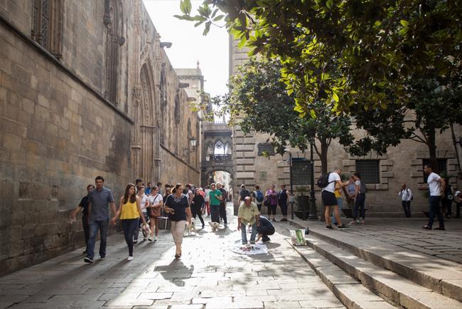 Passeggiata nel centro storico di Barcellona