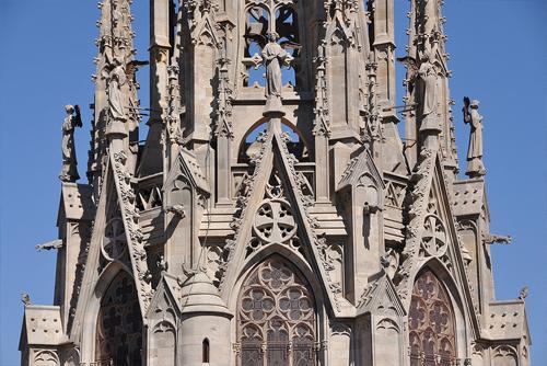 Facciata gotica della Cattedrale