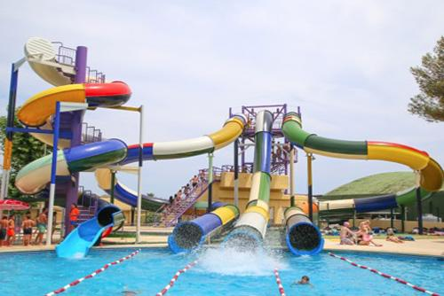 Acquamania at the Illa Fantasía Water Park