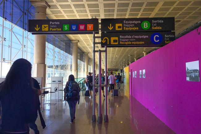 Aeroporto El Prat Barcellona