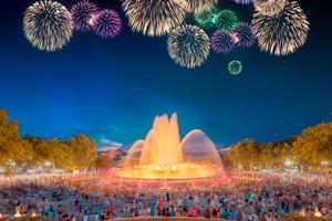 Fontana Magica del Montjuic