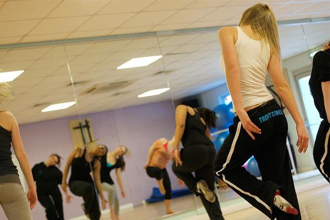 Baile en el gimnasio