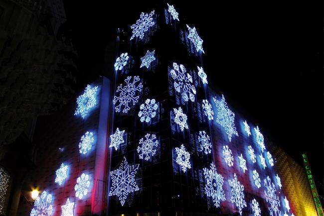 El Corte Inglés sotto Natale