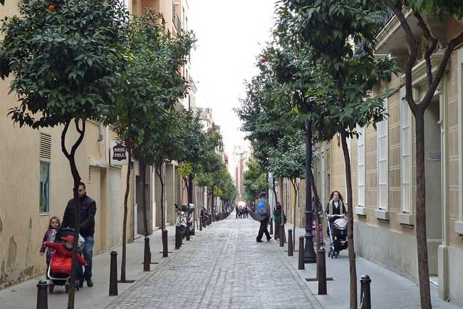 Una via di Sant Andreu