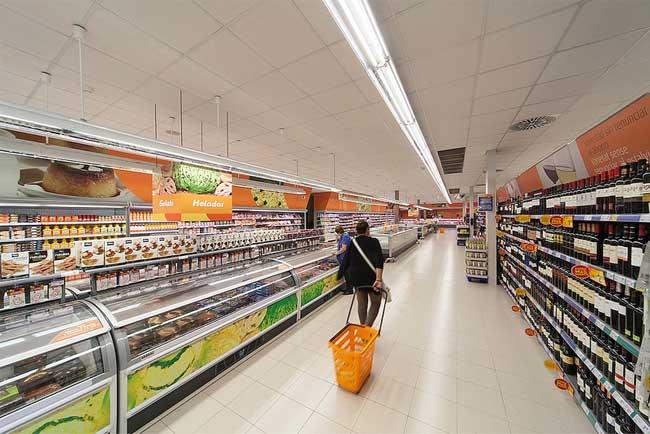 Supermercato spagnolo
