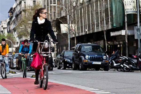 Piste ciclabili Barcellona